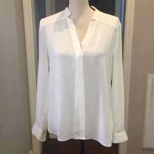 Banana Republic sheer high/low blouse.  Small